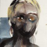 Tuhkimus, watercolour on paper, 74 x 50 cm, 2014